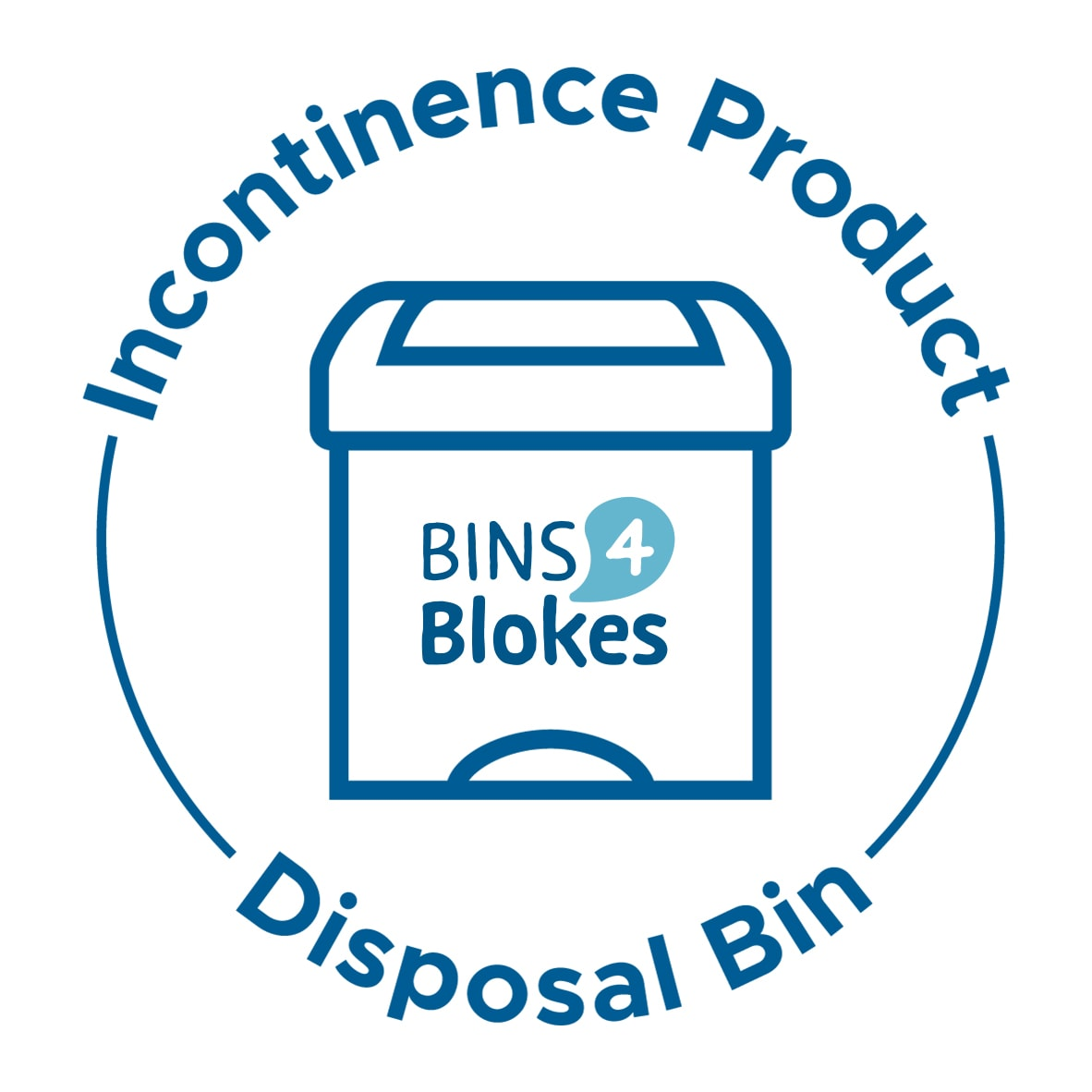 Incontinence Product Disposal Bin Sticker