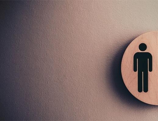 toilet door