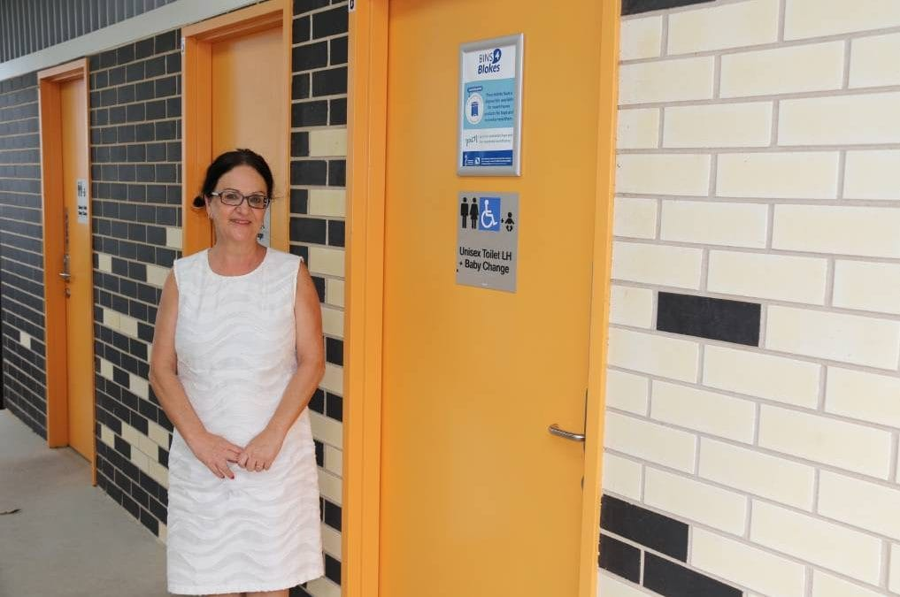 Mens incontinence product disposal bins installed across Camden